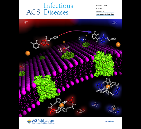Cover of ACS Infectious Diseases